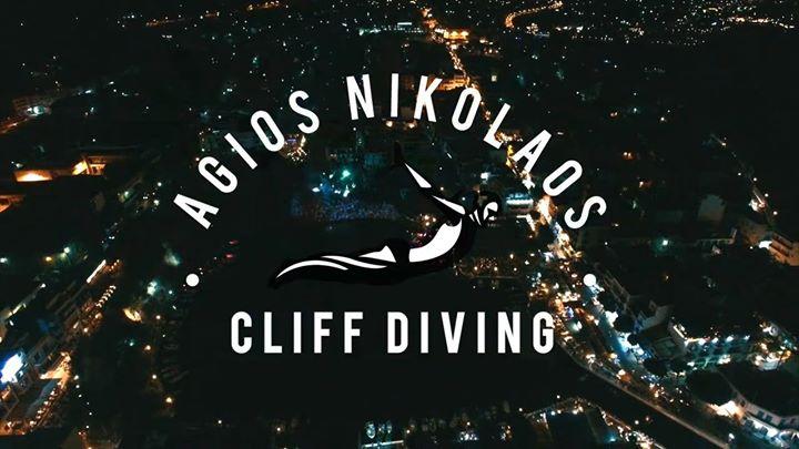 agios nikolaos cliff diving 2017
