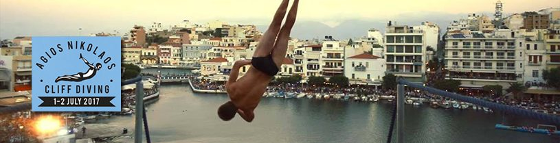 cliff diving 2017 in agios nikolaos